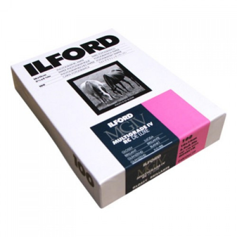 Ilford Multigrade IV RC Deluxe 10x15 100 Sheets Glossy Paper