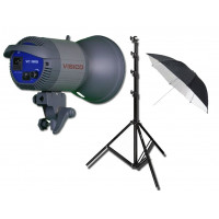 Visico VC-1000 KIT with Light Stand + Umbrella