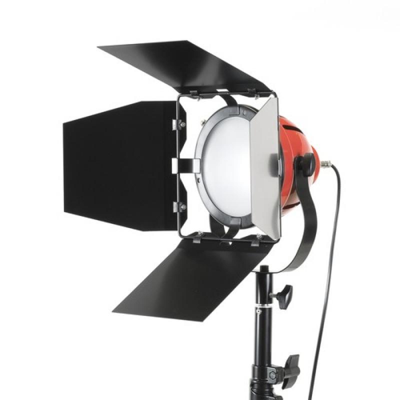 oem - IRiSfot Φωτιστικό Daylight  Led Red Head with dimmer 75W