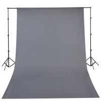 oem - IRiSfot Background Υφασμάτινο 3x6m Grey