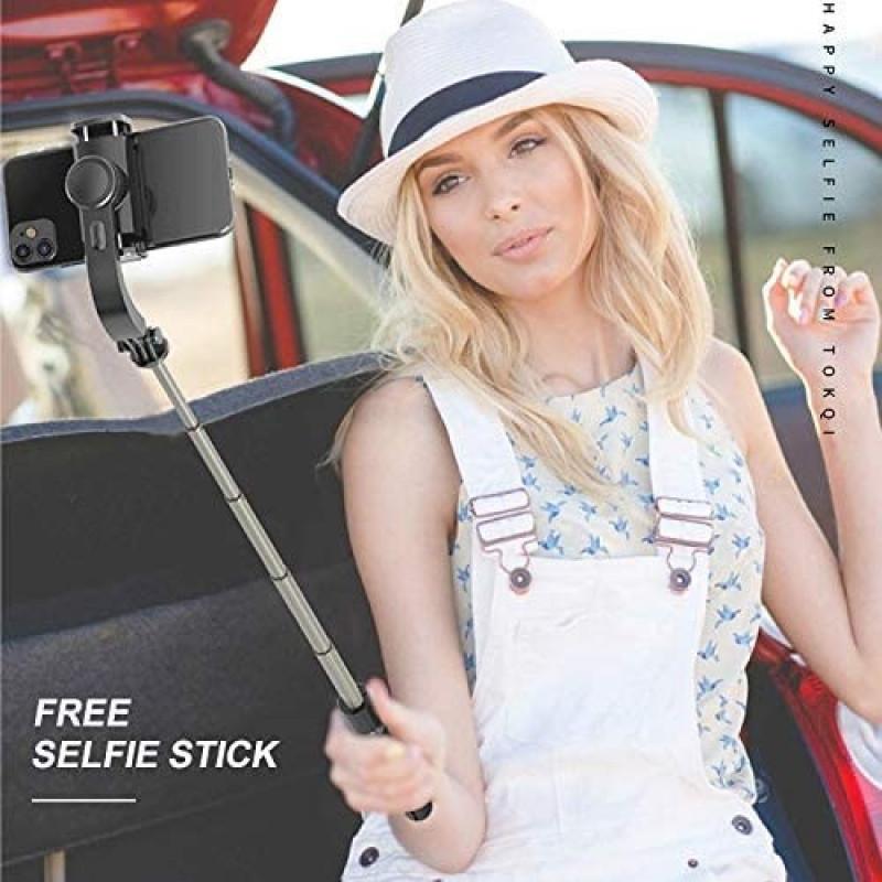 oem - IRiSfot L08 Anti-Shake Selfie Stick Tripod - Black