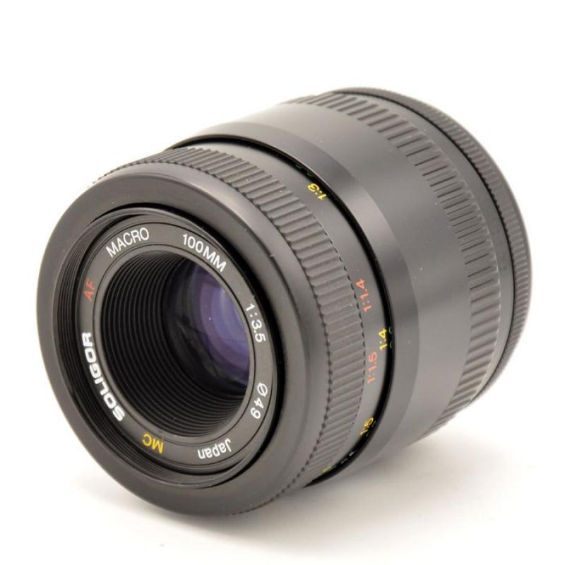 Soligor 100mm F3.5 MC macro for Nikon - Used