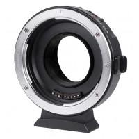 Viltrox EF-M1 adapter Canon EF-mount lens to Micro 4/3 camera
