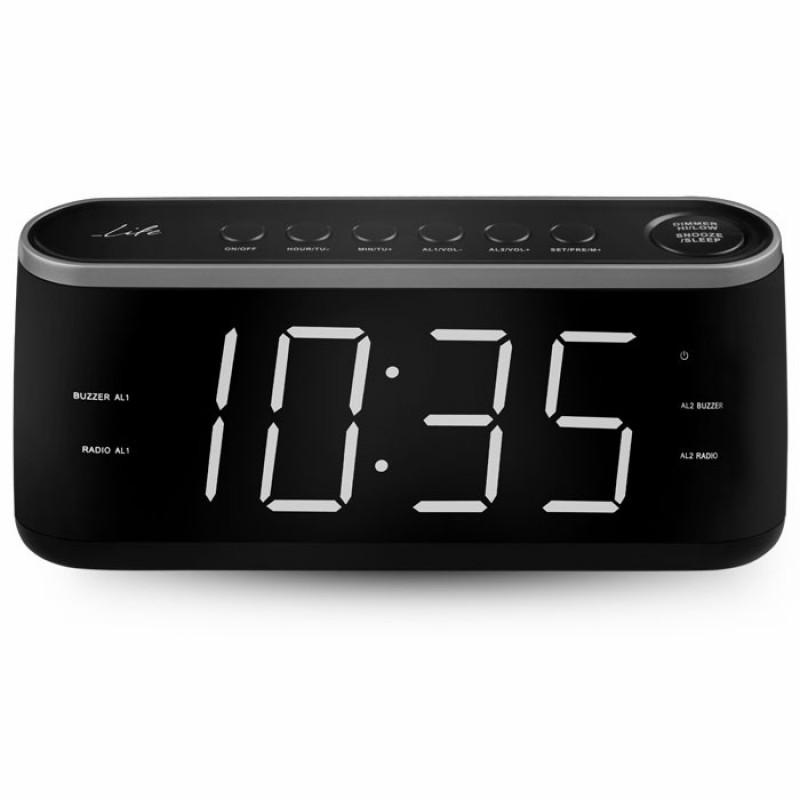 Life RAC-003 Ραδιόφωνο / Ρολόι / Ξυπνητήρι με οθόνη LED