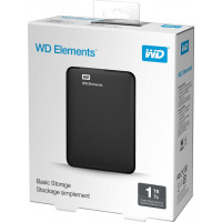 "Western Digital Elements 1TB USB 3.0 (Black 2.5"") [WDBUZG0010BBK-EESN]"